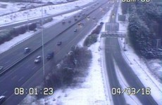 Commuting liveblog: Several crashes as snow affects driving conditions