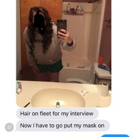 This girl accidentally sent a selfie to her family with a couple of dildos in the background
