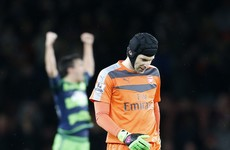 More misery for Arsenal as Petr Cech ruled out for up to four weeks