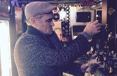 Morrissey was spotted pulling pints in Dublin last night