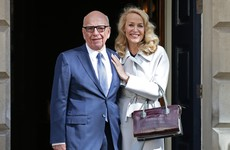 It's official: Rupert Murdoch and Jerry Hall tie the knot in London