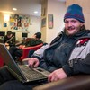 Homeless people given laptops in effort to improve access to jobs market and online connectivity
