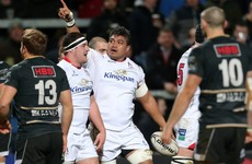 Williams on the double as Ulster hold Zebre scoreless in bonus-point victory