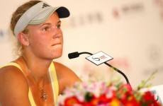 Wozniacki: Officials need to cut out the grunting and shrieking and the what not