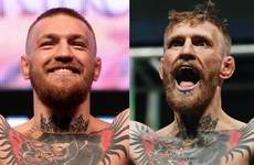 The striking differences between Conor McGregor on the scales last night and in December