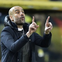 An emotional Guardiola gave one of his players an intense lecture after Bayern-Dortmund