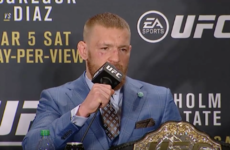 What now? Beaten McGregor says next fight will be featherweight title defence