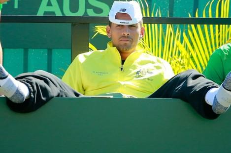 Australian tennis star Nick Kyrgios.