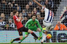 Rondon strike hurts top-four aspirations as 10-man United fall to defeat