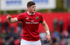 Schmidt adds Munster man O'Donoghue to Ireland's Six Nations squad