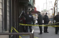 Man shot by police after violent rampage that saw homeless man set on fire