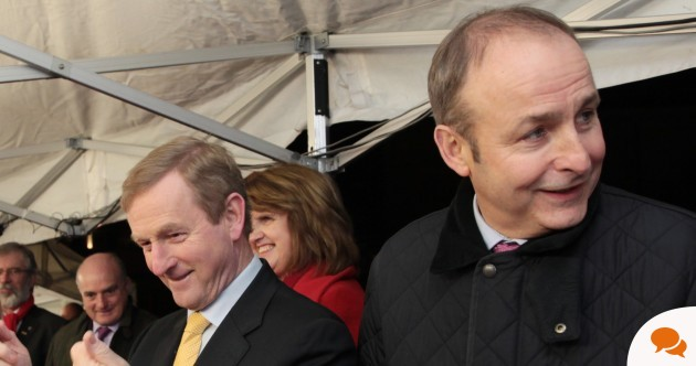 Fianna Fáil and Fine Gael need to get with the message from Irish voters