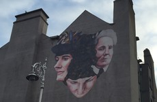 This amazing mural of 1916 women just appeared in Dublin city centre