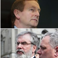 Gerry wants to be Taoiseach, but Enda is meeting everybody so that he gets to rule the roost