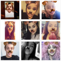 The dog Snapchat filter is hands down the most important Snapchat filter