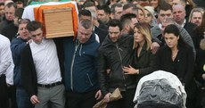 'I'm totally lost without you, I'm broken': Vincent Ryan funeral hears of girlfriend's heartbreak