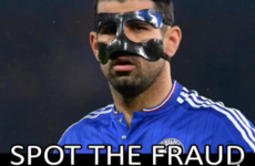 PSG's Twitter account labels masked Diego Costa a 'fraud'