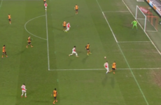David Meyler's horrible pass gifted Arsenal the lead in tonight's FA Cup replay