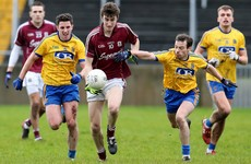 3 Galway seniors in U21 team for repeat of last year's Connacht final