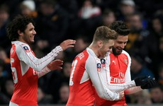 Two goals each for Giroud and Walcott but Arsenal's FA Cup win comes at a cost