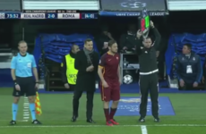 Bernabeu faithful show a rare bit of class by giving Roma legend Totti standing ovation