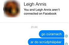Irish people in this Facebook group have come up with a gas Gaeilge meme