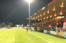 Six arrests made after fan trouble around Sligo Rovers and Shamrock Rovers game
