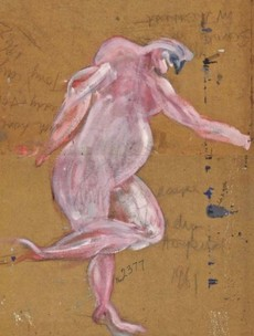 'Lost' Francis Bacon work found on back of two Irish paintings up for sale at bargain price
