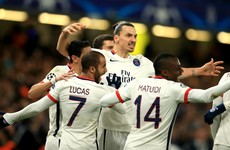 As it happened: Chelsea v Paris Saint-Germain, Champions League
