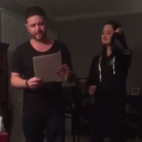 The lovely moment a girl asked the man who raised her to adopt her is going viral on Facebook