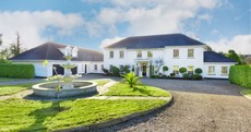 This stunning Carrickmines home has everything you need - including a swimming pool