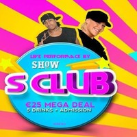 S Club are playing a nightclub in Tallaght this Saturday