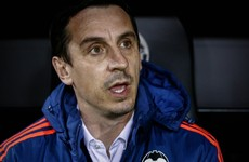 Neville hits out at media following 'absurd' comments