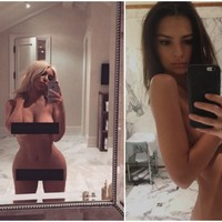 Kim Kardashian has inspired tons of people to take naked selfies for body positivity