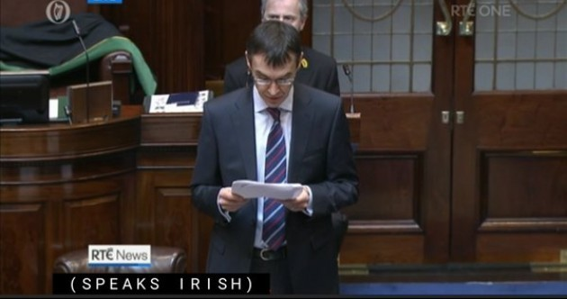 RTÉ News knocked it out of the park with these Irish subtitles