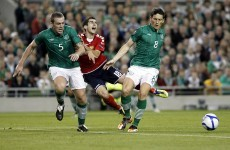 UEFA overturn Andrews' yellow card ahead of Estonia clash