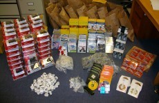 €40k of counterfeit phones, games and software seized in Knocklyon