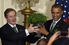 Enda's St Patrick's trip to the US has been cut to just one day