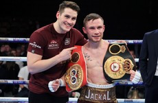 Frampton to step up in weight division for featherweight title fight with Santa Cruz