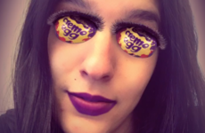 Everyone's obsessed with this Snapchat filter that turns your eyes into Creme Eggs