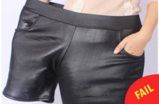 This company is advertising plus-size shorts in the most ridiculous way