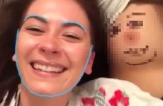 These gals successfully attempted a boob face swap, and it's slightly horrifying