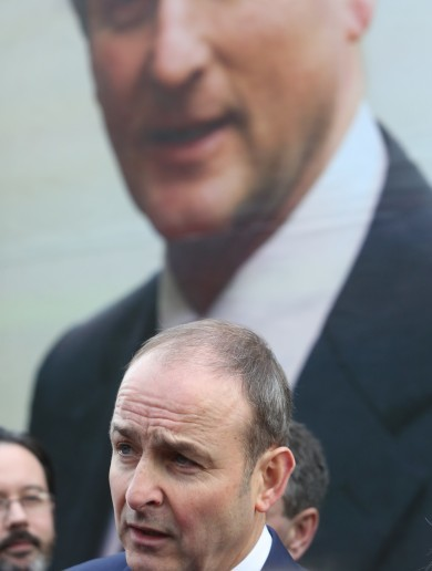 Fine Gael and Fianna Fáil almost neck and neck in latest opinion poll