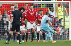 Dimitri Payet's free-kick to give West Ham the lead at Old Trafford was out of this world