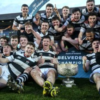 Belvedere turn on the style at the RDS to clinch Leinster Schools Senior Cup
