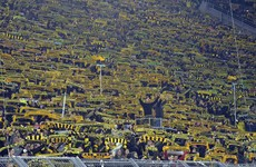 Dortmund fans sing 'You'll Never Walk Alone' after supporter dies during game