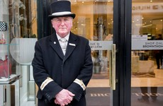 The Brown Thomas doorman shared an incredible story with Humans of Dublin