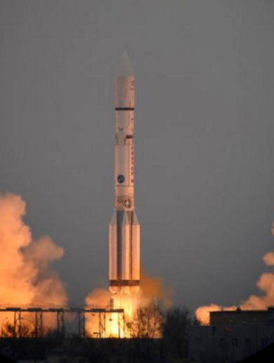 WATCH: Spacecraft blasts off in new mission to search for life on Mars