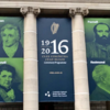 Poll: What do you make of the controversial 1916 banner at College Green?