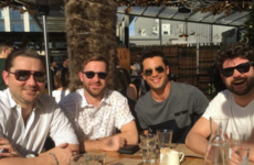 All the lads from Laguna Beach met up at the weekend... It's The Dredge